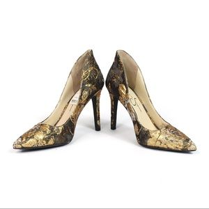 Jessica Simpson Shoes - Jessica Simpson   Cambredge Floral Brocade Pumps